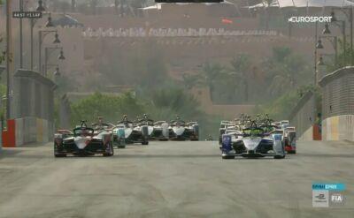 Najważniejsze wydarzenia z drugiego wyścigu Formuły E w Ad-Dirijja