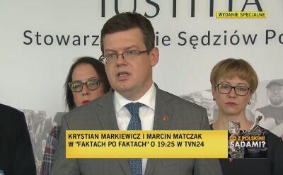 """Apel przewodniczącego """"Iustitii"""", profesora Krystiana Markiewicza"""
