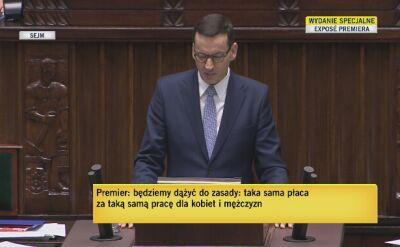 Premier: W tej kadencji zaproponujemy dalszą przebudowę systemu podatków tak, aby kolejne korzyści odniosły jak najszersze rzesze Polaków