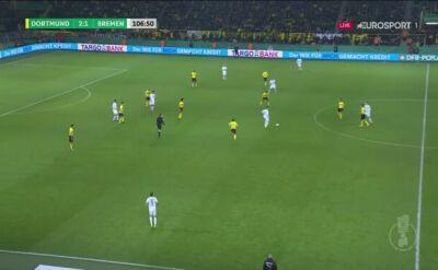 Szalony mecz w Dortmundzie. Werder wyeliminował Borussię po karnych