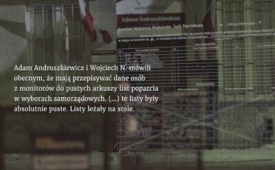 """""""Wiceminister i sfałszowane podpisy"""" - pierwsza część reportażu"""
