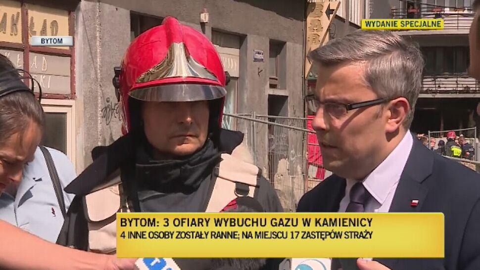 Matka i dwie córki zginęły w wybuchu w Bytomiu. Zakończono przeszukiwanie budynku
