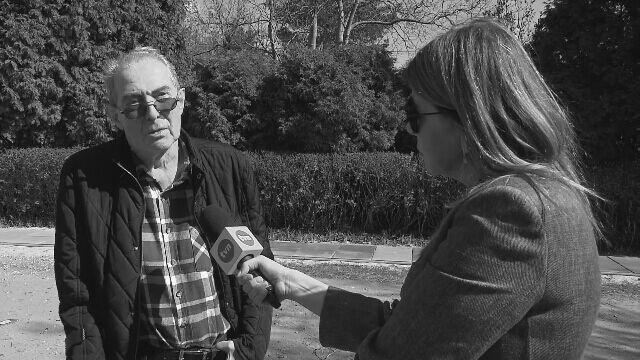 """Modzelewski rozmawiał z reporterką""""Faktów"""" TVN o Solidarności"""