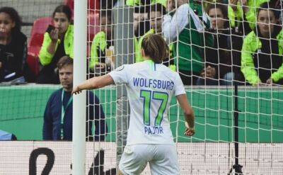 Ewa Pajor jest gwiazdą Wolfsburga