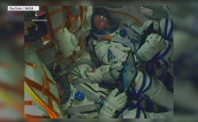 Astronauci mieli dotrzeć na międzynarodową stację kosmiczną