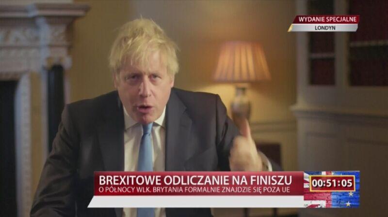 Orędzie Borisa Johnsona