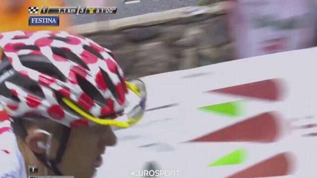 Triumf Rafała Majki na 17. etapie Tour de France 2014