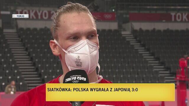 Jakub Kochanowski skomentował zwycięstwo z Japonią