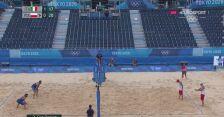 Tokio. Siatkówka plażowa: Kantor i Łosiak doprowadzili do remisu z Włochami