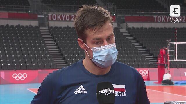 Tokio. Siatkówka: Michał Kubiak po wygranym 3:0 meczu z Kanadą