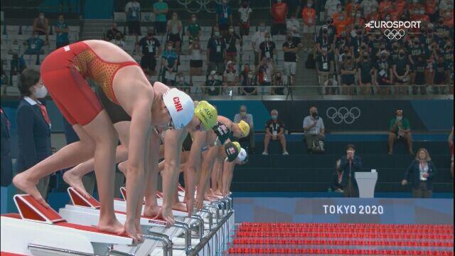 Tokio. Finał 50m stylem dowolnym. Katarzyna Wasick bez medalu