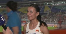 Anna Sabat po kwalifikacjach w biegu na 800 m