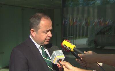Szymański: odpowiedzialność w sprawie art. 7 przejmują państwa UE
