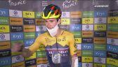 Rozmowa z Primozem Rogliciem po 4. etapie Tour de France