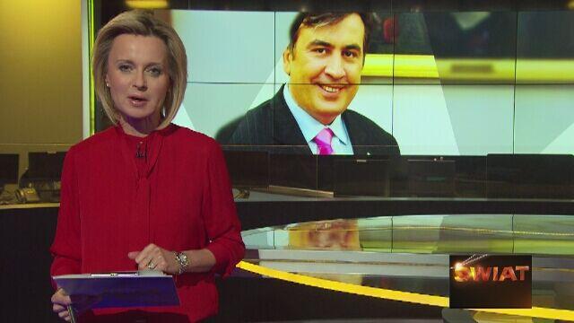 Cała rozmowa Jolanty Pieńkowskiej z Micheilem Saakaszwilim