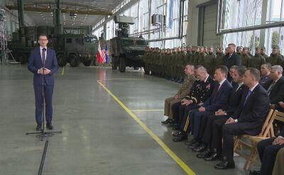 Całe wystąpienie premiera Mateusza Morawieckiego