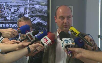 Prezes JSW: był wstrząs wtórny, wyzwolił dużo metanu