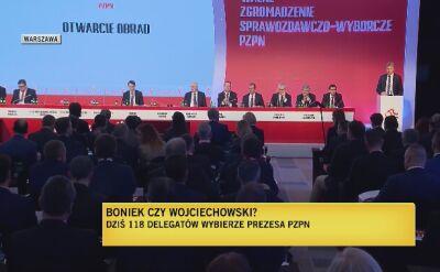 Zbigniew Boniek otwiera Zgromadzenie Sprawozdawczo Wyborcze PZPN