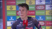 Philipsen po wygraniu 2. etapu Vuelta a Espana
