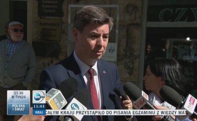 Grabiec: obowiązki sekretarza generalnego PO będzie wykonywał Robert Tyszkiewicz