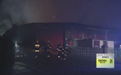 Pożar tartaku w Lubuskiem. 11 zastępów w akcji