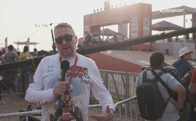 Rafał Sonik w nowej roli podczas Rajdu Dakar