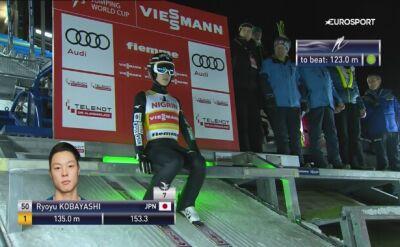 Zwycięski skok Kobayashiego z Val di Fiemme