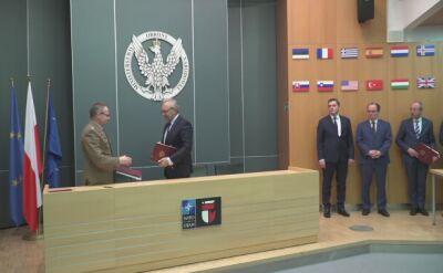 Podpisanie umowy na nowoczesne miny Jarzębina-S