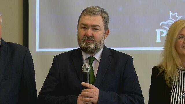 Liderem listy w okręgu podlaskim i warmińsko-mazurskim jest europoseł Karol Karski