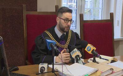 Sąd poinformował dziennikarzy, że rozprawa się nie odbędzie