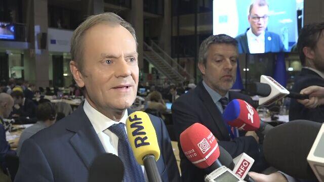 Tusk: chciałbym, żeby Brytyjczycy rozważyli wycofanie się z brexitu