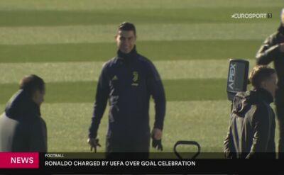 Cristiano Ronaldo grozi zawieszenie