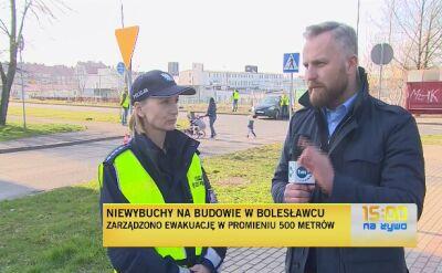 Niewybuchy na budowie w Bolesławcu