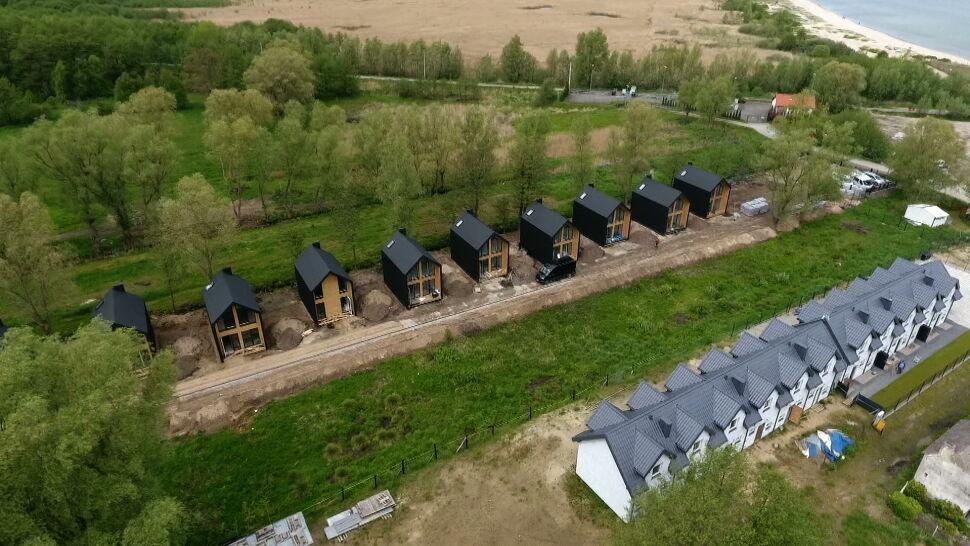 W Mechelinkach powstaje tak zwane osiedle covidowe, czyli bez zezwolenia na budowę