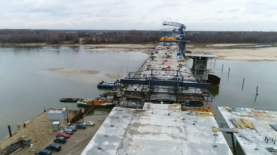 Trwają prace nad ukończeniem Mostu Południowego