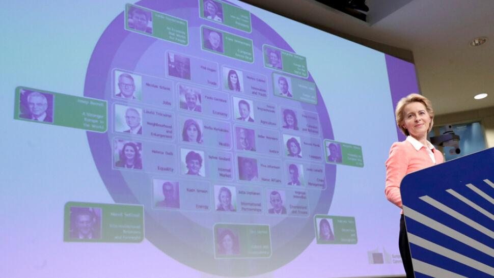 Von der Leyen przedstawiła proponowany skład nowej Komisji Europejskiej