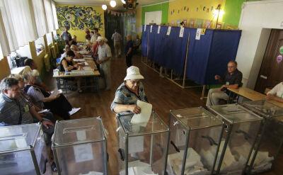Ukraińcy głosują w wyborach do Rady Najwyższej