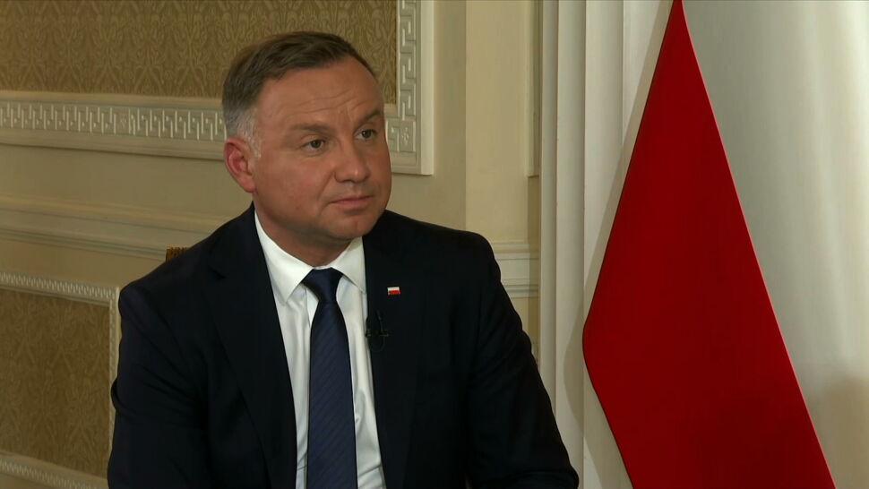 Andrzej Duda: to nie polskie władze pchają tych ludzi na granicę