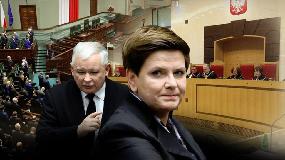 """""""Zamach"""" na Trybunał Konstytucyjny dokonany. PiS wprowadził swoje zmiany"""