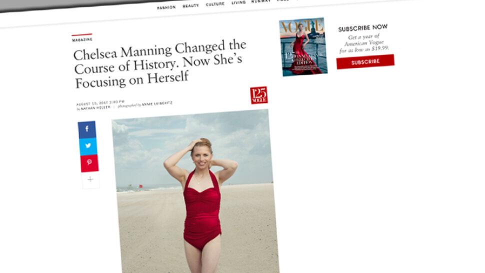 """""""Zmieniła bieg historii"""". Amerykański """"Vogue"""" pisze o Chelsea Manning"""