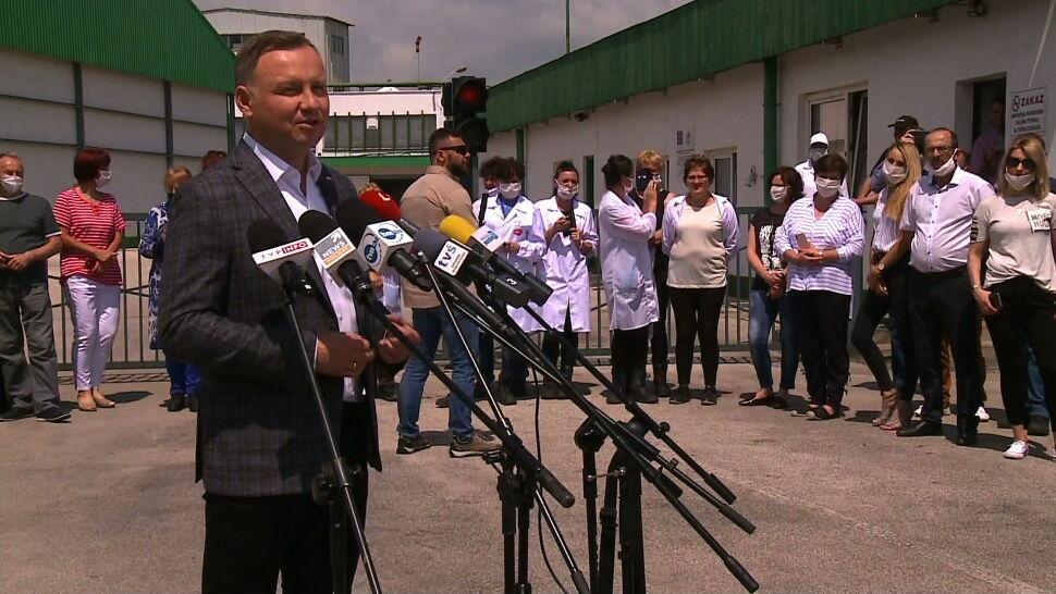 Sztab Andrzeja Dudy złożył pozew przeciwko Rafałowi Trzaskowskiemu