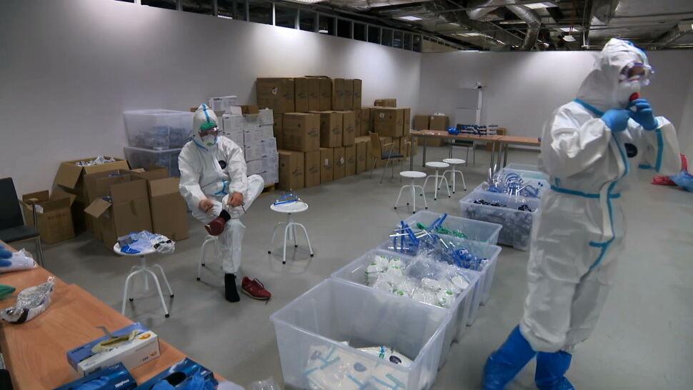 MZ odnotowało w niedzielę 21854 nowych przypadków zakażenia koronawirusem