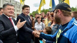Saakaszwili został Ukraińcem.