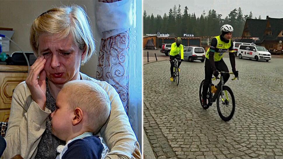 5-letni Adaś ma rzadką chorobę. Rajd przez Polskę ma pomóc nagłośnić jego przypadek