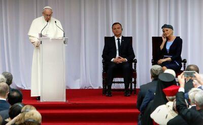 Całe przemówienie papieża na Wawelu