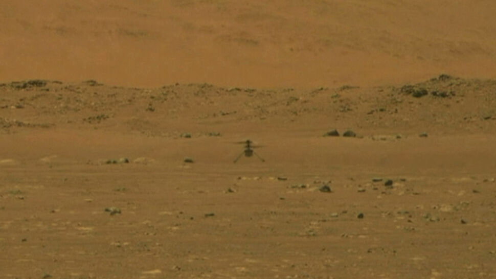 """Pierwszy lot drona na Marsie. """"Historyczne wydarzenie"""""""