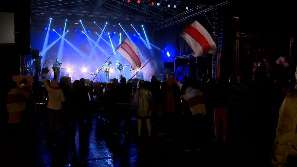 Muzyczny pokaz solidarności z Białorusią