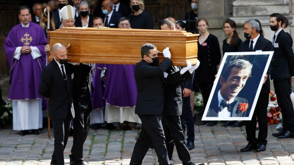 Krewni i przyjaciele pożegnali Jean-Paula Belmondo