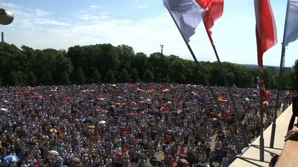 Różne drogi, jeden cel. Setki tysięcy pielgrzymów na Jasnej Górze