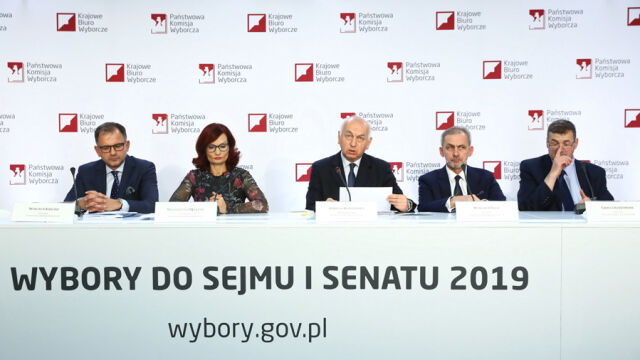 PKW podała zbiorcze wyniki wyborów do Sejmu